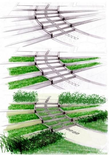 Ландшафтная архитектура пейзаж