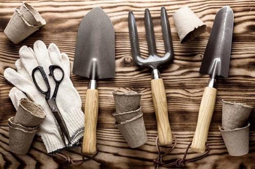 Хранить садовые принадлежности